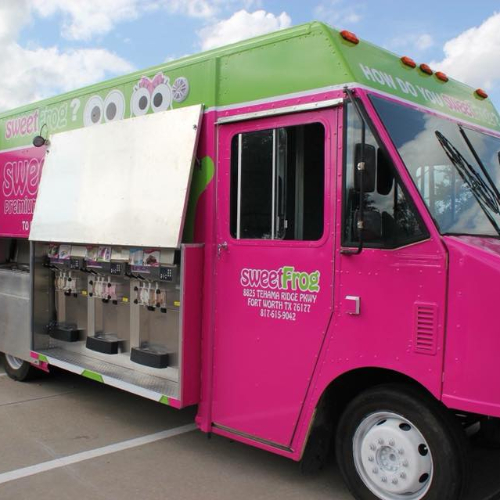 sweetFrog truck